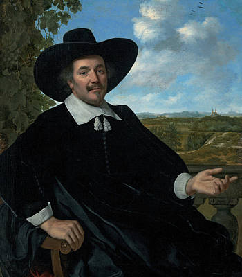 Painting - Portrait Of Gabriel Marselis by Bartholomeus van der Helst