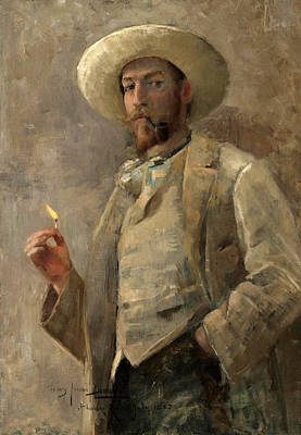 Ruger Painting - Portrait Of Gaines Ruger Donoho by John Lavery