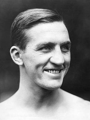 Boxer Photograph - Portrait Of George Carpentier by Underwood Archives