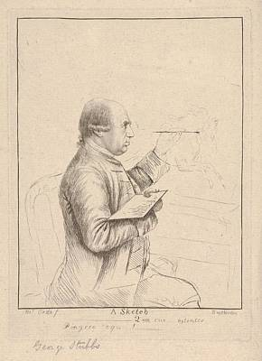 Painting - Portrait Of George Stubbs By James Bretherton by Artistic Panda