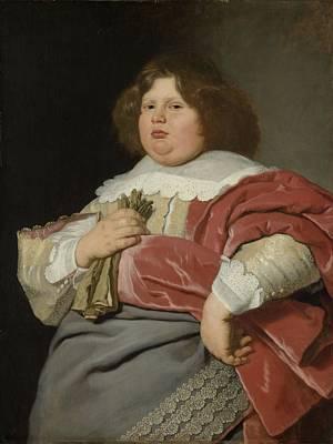 Portrait Of Gerard Andriesz Bicker, 1642 Art Print