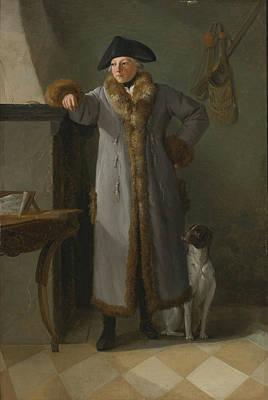 Portrait Painting - Portrait Of Gottlieb Christian  by MotionAge Designs