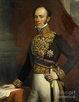 Netherlands Painting - Portrait Of Governor General Of The Dutch East Indies by Celestial Images