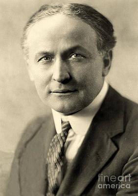 Portrait Of Harry Houdini Circa 1911 Art Print