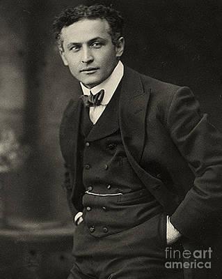 Portrait Of Harry Houdini Circa 1913 Art Print