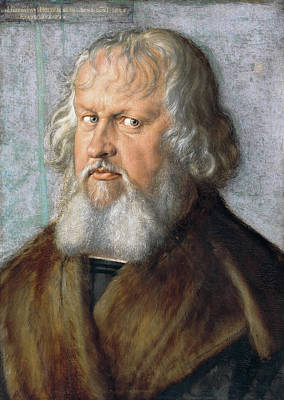 Painting - Portrait Of Hieronymus Holzschuher  by Albrecht Durer