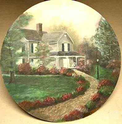 Portrait Of Home Art Print by Nicholas Minniti