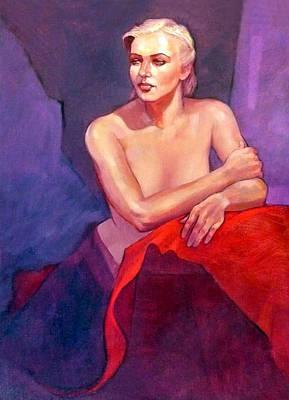 Portrait Of Ingrid Original by Roz McQuillan