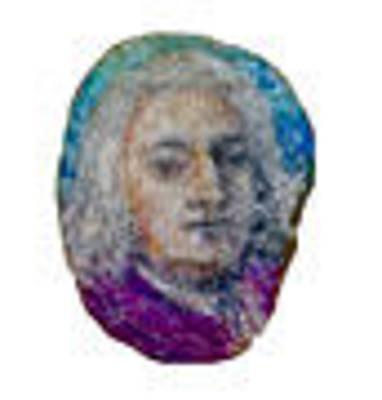Isaac Newton Painting - Portrait Of Isaac-newton by Amit Chakravarti