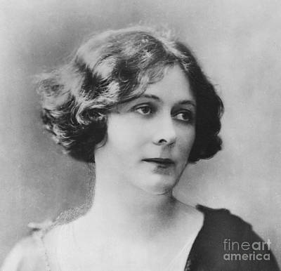 Portraits Photograph - Portrait Of Isadora Duncan by French School