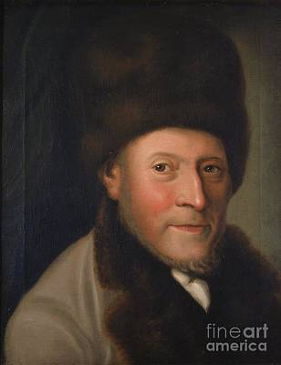 Painting - Portrait Of Issac Jacob Gans Of Celle by Celestial Images