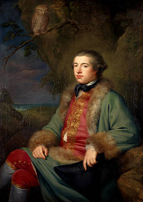 Willison Painting - Portrait Of James Boswell by George Willison