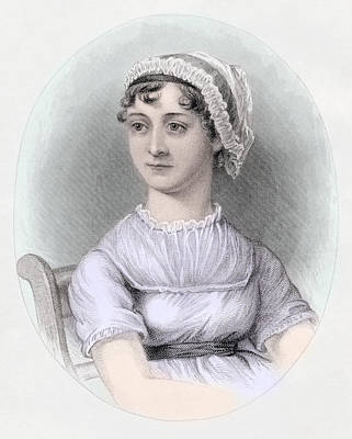 Portrait Of Jane Austen Art Print by Cassandra Austen