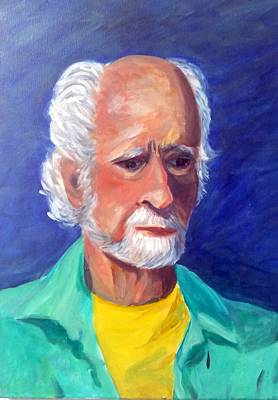 Painting - Portrait Of Jim by Rosie Sherman