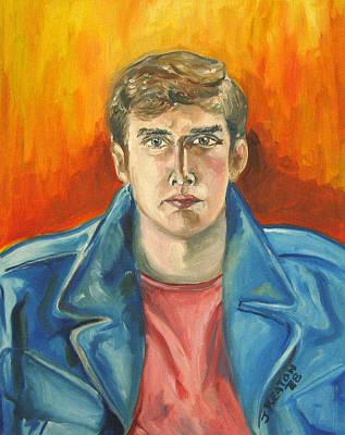 Painting - Portrait Of John Carriero by John Keaton