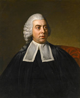 Painting - Portrait Of John Lee Attorney-general Wearing Legal Robes by Nathaniel Dance