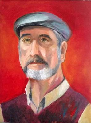 Painting - Portrait Of John by Rosie Sherman