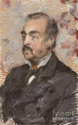 Portrait Of Julien De La Rochenoire By Edouard Manet Art Print by Esoterica Art Agency