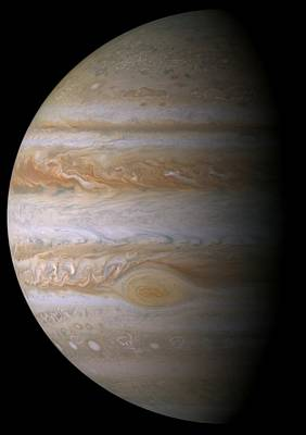 Photograph - Portrait Of Jupiter From Cassini by NASA JPL and the Space Science Institute