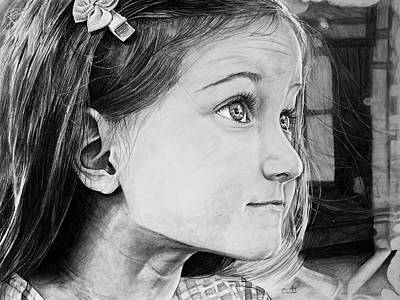 Drawing - Portrait Of Kd by Aaron Spong