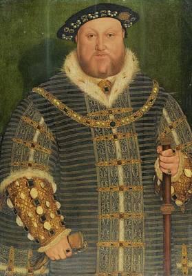 Portrait Of King Henry Art Print