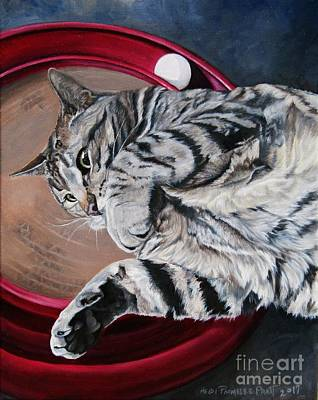 Painting - Portrait Of Kitty by Heidi Parmelee-Pratt