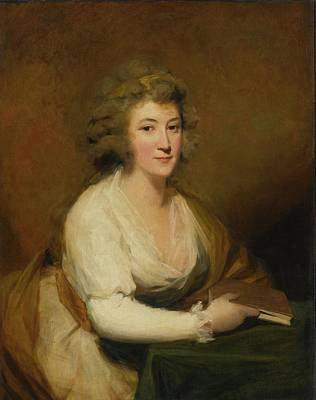 Raeburn Painting - Portrait Of Lady Nasmyth by Henry Raeburn