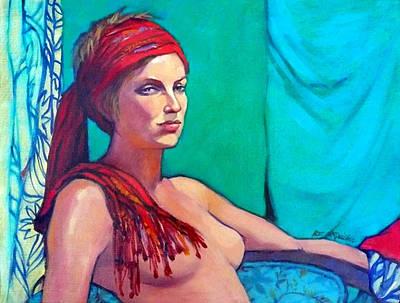 Portrait Of Lara Original by Roz McQuillan