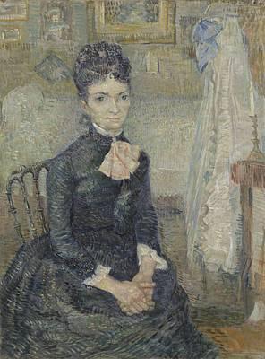 Painting - Portrait Of Leonie Rose Charbuy-davy Paris  March  April 1887 Vincent Van Gogh 1853  1890 by Artistic Panda