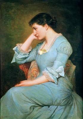 Portrait Of Lillie Langtry  Art Print