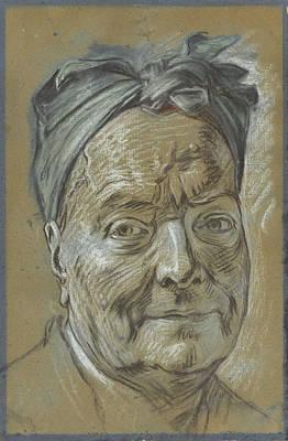 Portrait Of Louis De Silvestre Art Print