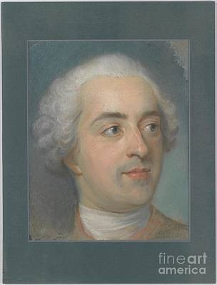 Louis Xv Painting - Portrait Of Louis Xv  by Celestial Images