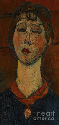 Painting - Portrait Of Madame Dorival by Amedeo Modigliani