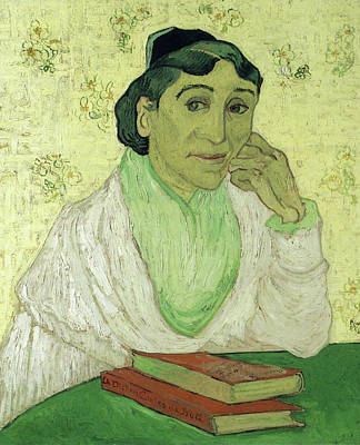 Madame Painting - Portrait Of Madame Ginoux, L'arlesienne by Vincent van Gogh