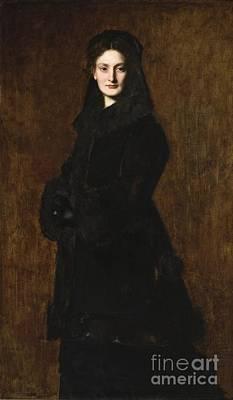 Duchesne Painting - Portrait Of Madame Paul Duchesne-fournet by Celestial Images
