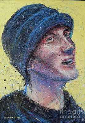 Portrait Of Man  Original by Michael Glass