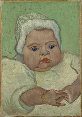 Painting - Portrait Of Marcelle Roulin Arles, December 1888 Vincent Van Gogh 1853  1890 by Artistic Panda
