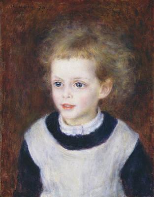 Margot Painting - Portrait Of Marguerite by Auguste Renoir