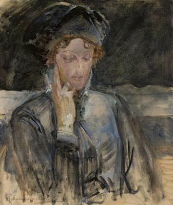 Painting - Portrait Of Maria Bal by Jacek Malczewski