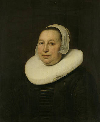 Painting - Portrait Of Maria Pietersdr De Leest by Bartholomeus van der Helst