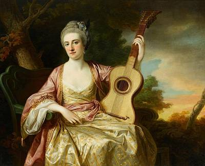 1770 Painting - Portrait Of Maria Walpole by MotionAge Designs
