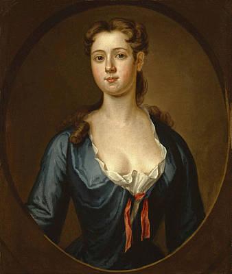 Painting - Portrait Of Mary Pemberton by John Smibert