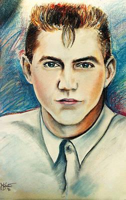 Drawing - Portrait Of Matthew by John Keaton