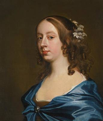 Middleton Painting - Portrait Of Miss Middleton by Hayls