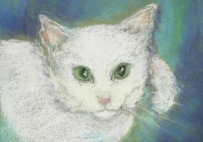 Drawing - Portrait Of Misty by Denise F Fulmer