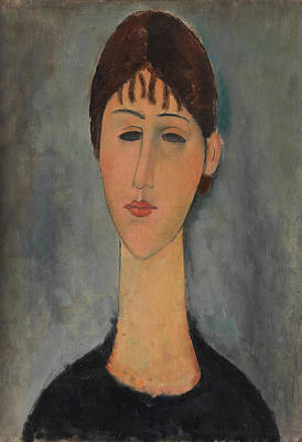 Painting - Portrait Of Mme Zborowska by Amedeo Modigliani