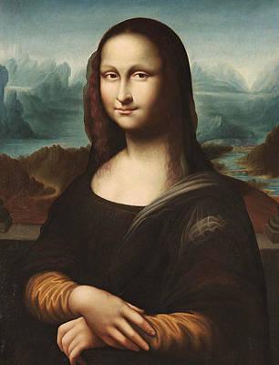 Painting - Portrait Of Mona Lisa  by Italian School