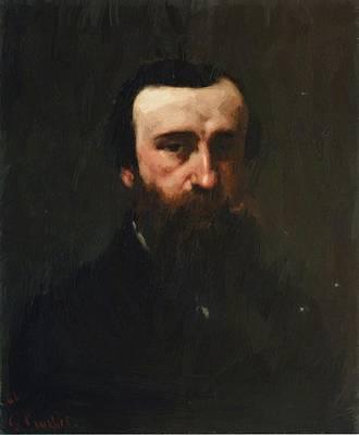 Paint Digital Art - Portrait Of Monsieur Nicolle 1862 by Courbet Gustave