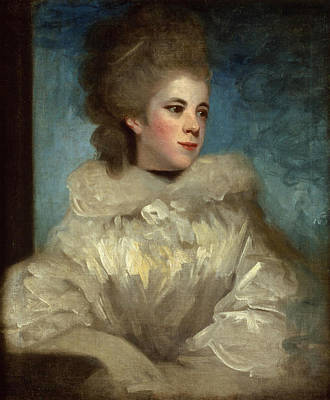 Painting - Portrait Of Mrs. Abington by Joshua Reynolds