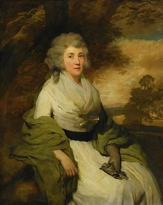 Raeburn Painting - Portrait Of Mrs John Parish by MotionAge Designs